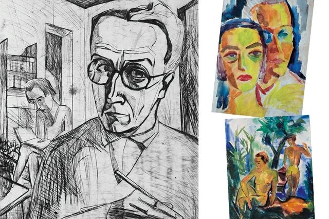 Fritz Schaefler –  Die Expressionistischen Jahre 1918–1925