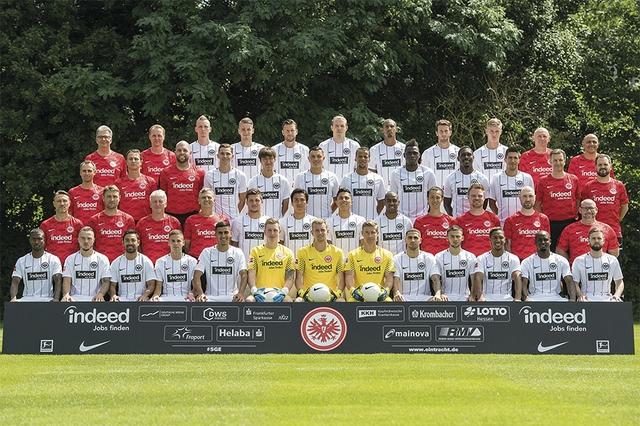 Eintracht Frankfurt_Teamfoto1718