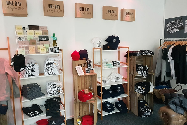 One Day e.V. Pop-Up Store