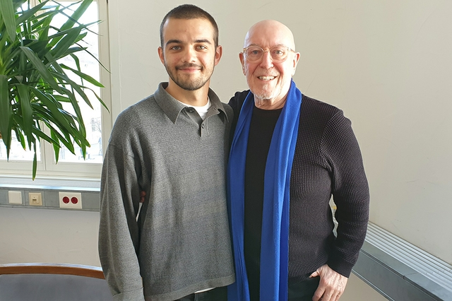 Interview mit Pete Agnew (Nazareth) und Wadim Neesbors