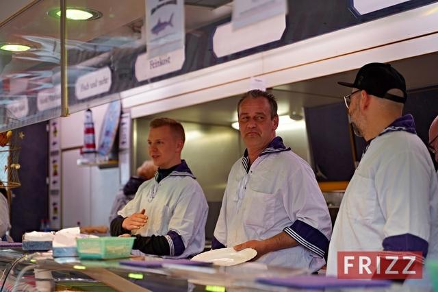 Offizielle Eröffnung Hamburger Fischmarkt 2019