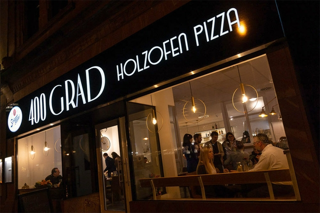 400 Grad Pizza