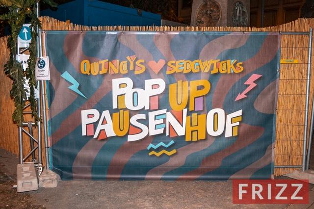 Quincys & Sedgwicks Pop-up-Pausenhof 2020