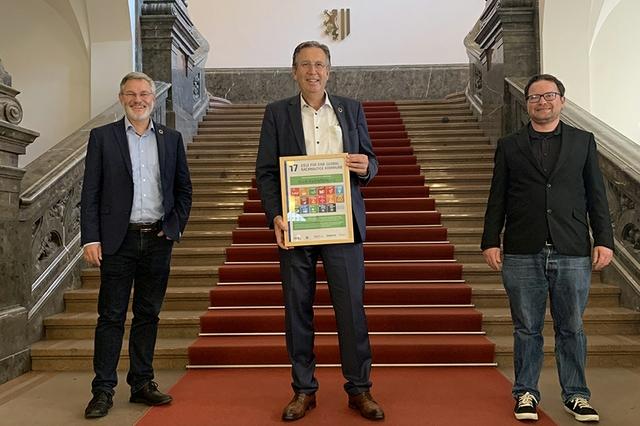 OB Jürgen Herzing Agenda 2030 Kommune