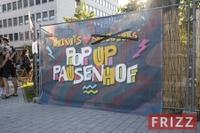 Opening Pop-up-Pausenhof 2021