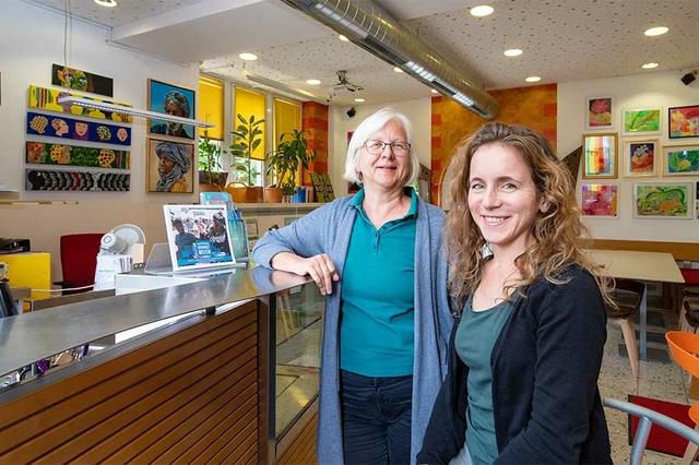 Sigrid Ehrmann und Anke Lang