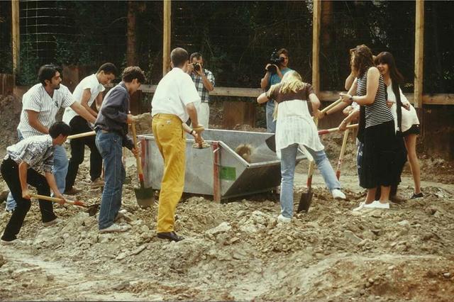 1996: Spatenstich zur Aschaffenburger Jugendiformationsstelle