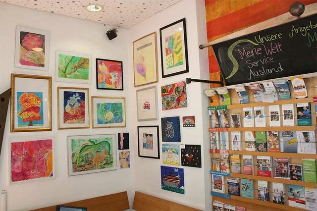 """Café ABdate: """"Ausstellungen"""""""