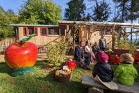 Apfeltag Waldkindergarten Goldbach