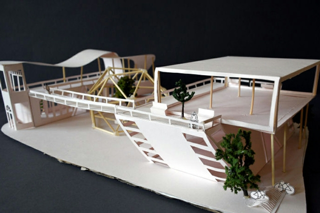 MWS Architekturmodell City Galerie