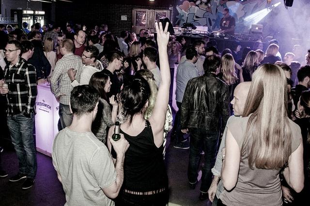 Vinylbar-Party